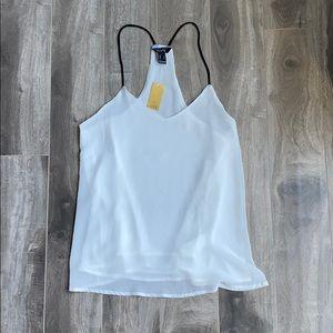 Women's white flowy blouse